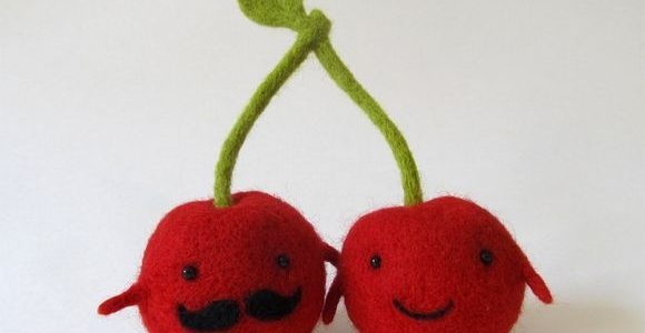 Felted food friends by Hanna Dovhan