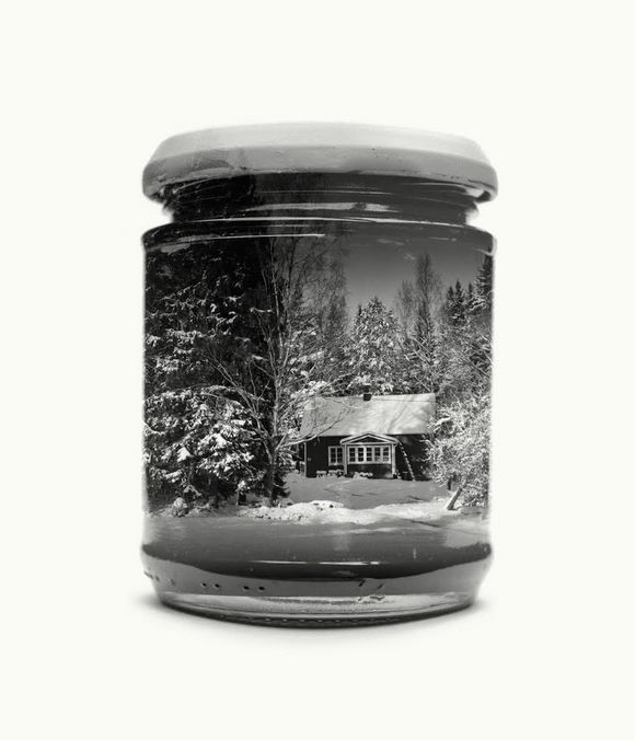 Bottled Finnish Landscapes