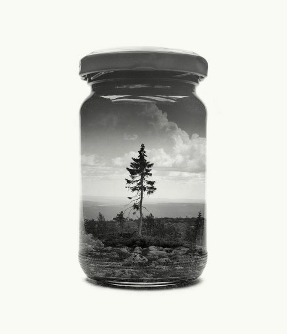 bottled Finnish landscapes photography by Christoffer Relander