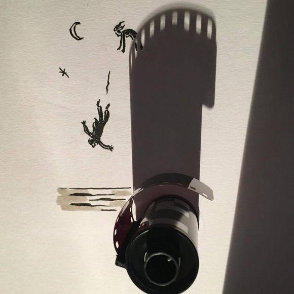Belgian filmmaker and illustrator Vincent Bal creates funny illustration
