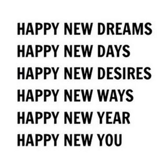 happy new ways, happy new you