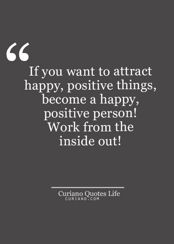 attract positive things