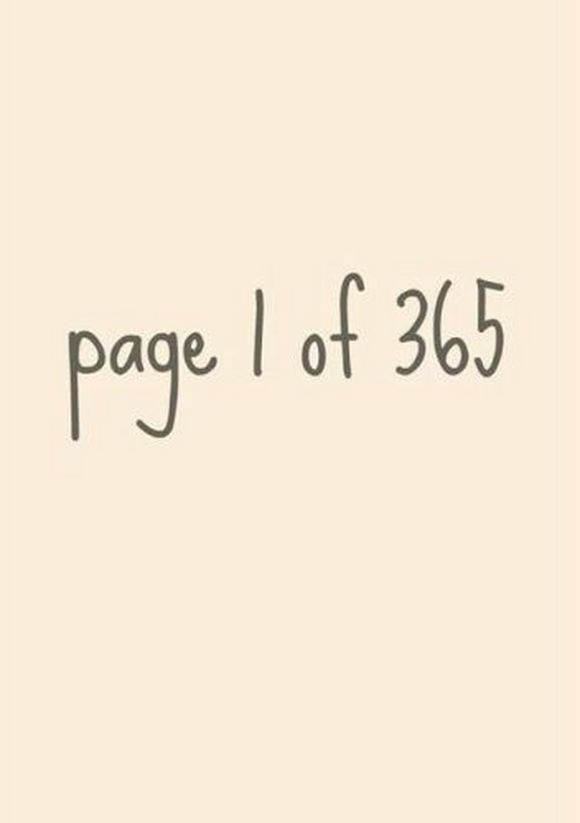 new page, blank page