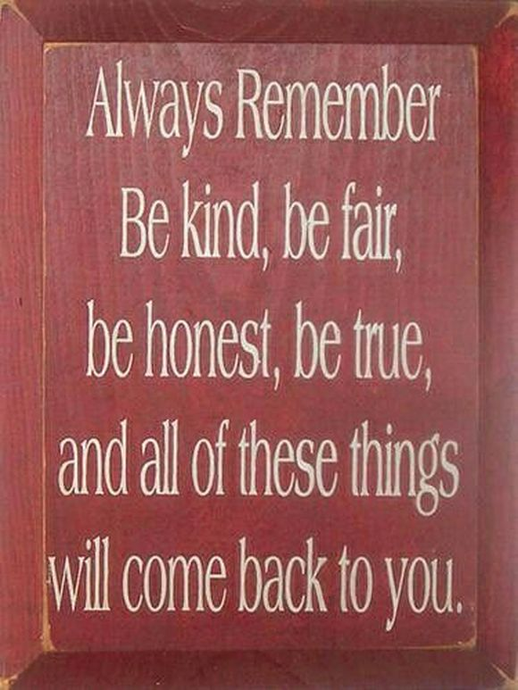 Be kind, be fair, happy New Year!