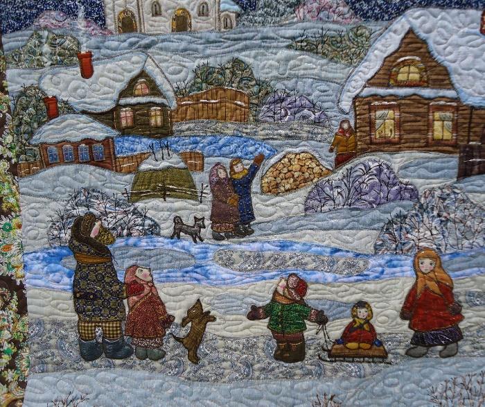 textile artist Maryana Zolotova