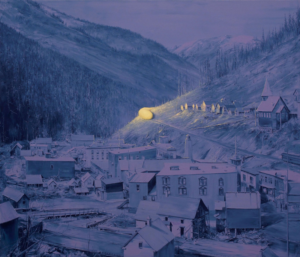subverted landscapes by Paco Pomet