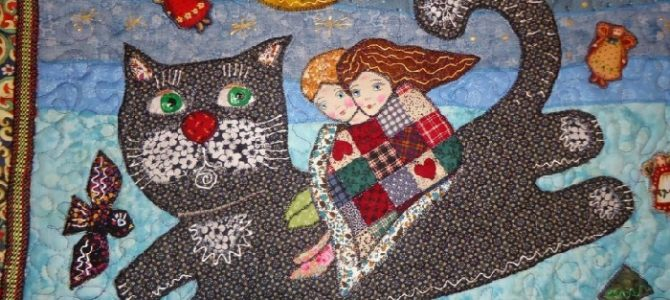Patchwork art by Russian textile artist Maryana Zolotova