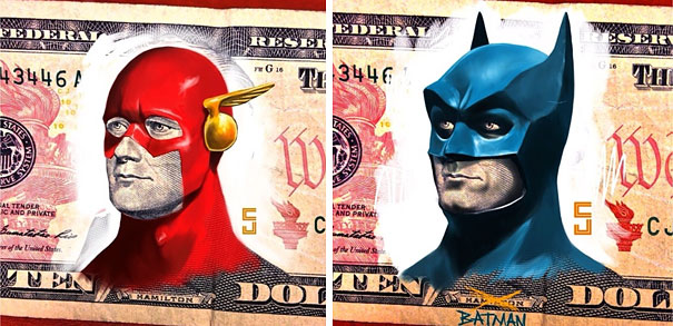 flash and batman